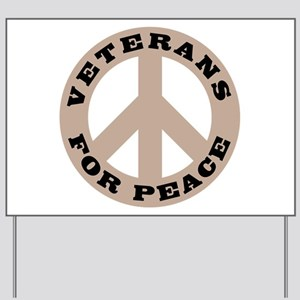 Veterans For Peace Yard Sign