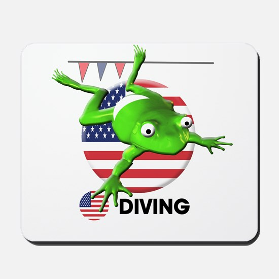 diving Mousepad