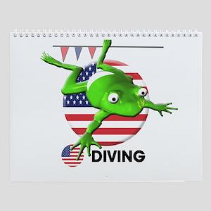 diving Wall Calendar