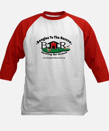 BTTR Logo Just a Dog Kids Baseball Jersey
