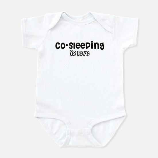 Co-sleeping is love Infant Bodysuit