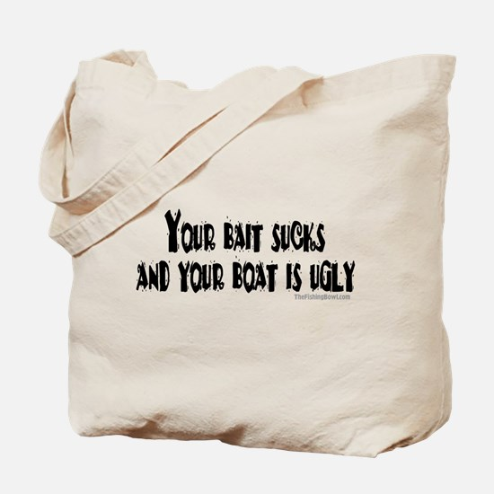 Bad Attitude Fishing Tote Bag