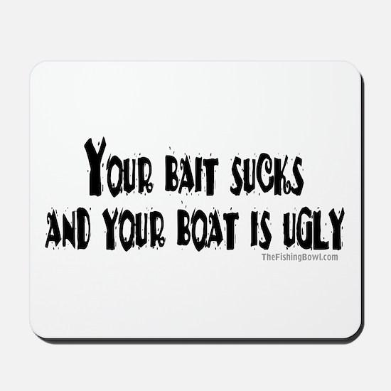 Bad Attitude Fishing Mousepad