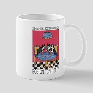 3 boston terriers mugs cafepress