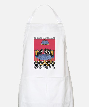 Boston Buddies Boston Tea Par BBQ Apron