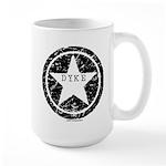 Dyke Star Large Mug