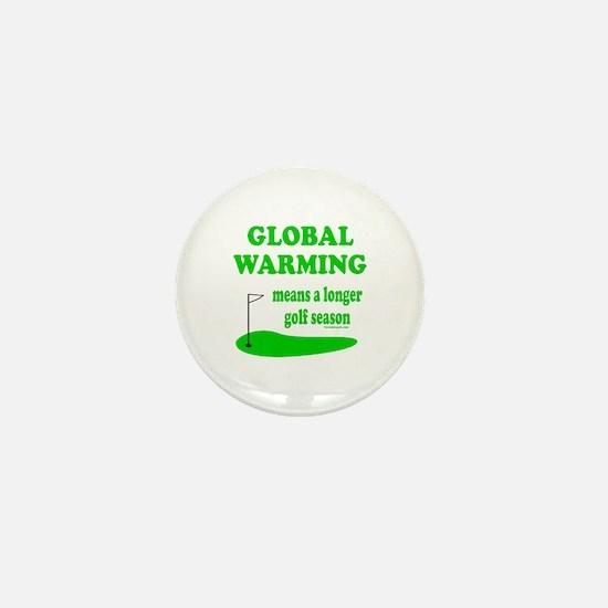 GOLFING Mini Button