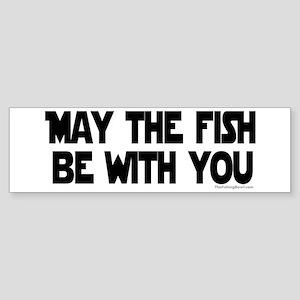 Fish Force Bumper Sticker