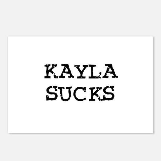 Kayla Sucks Postcards (Package of 8)