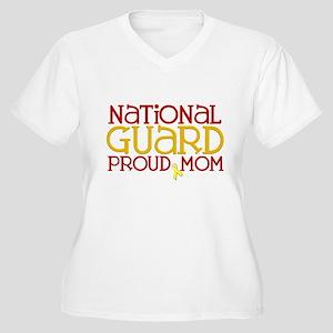 NG Proud Mom Women's Plus Size V-Neck T-Shirt