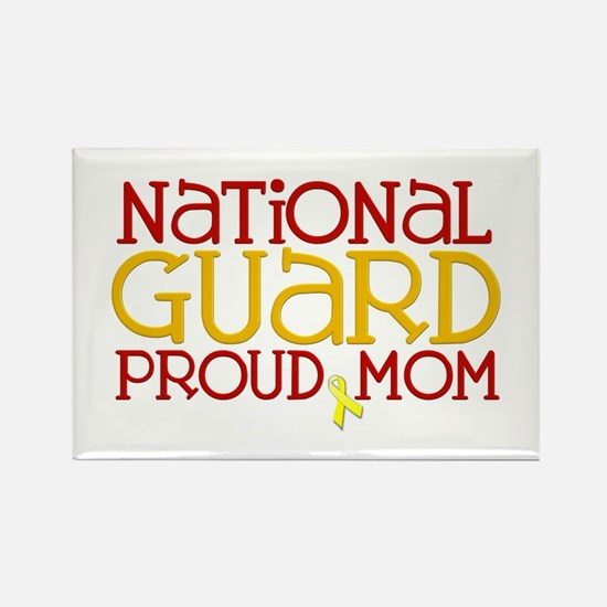 NG Proud Mom Rectangle Magnet