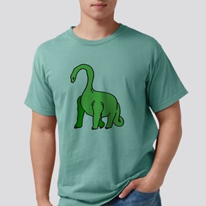 GREEN BRONTOSAURUS DINOSAUR T-Shirt
