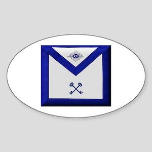 Masonic Treasurer Apron Sticker