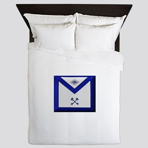 Masonic Treasurer Apron Queen Duvet