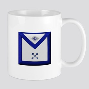 Masonic Treasurer Apron Mugs