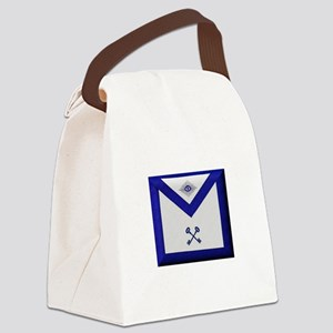 Masonic Treasurer Apron Canvas Lunch Bag