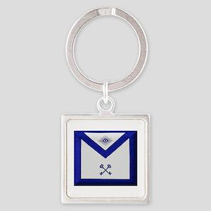 Masonic Treasurer Apron Keychains