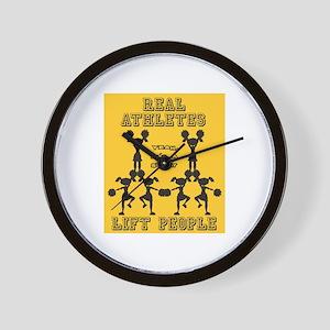 Cheer - Athletes Wall Clock