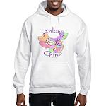 Anlong China Map Hooded Sweatshirt