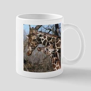 Giraffe Mom and Kid Mug