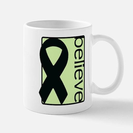 Light Green (Believe) Ribbon Mug