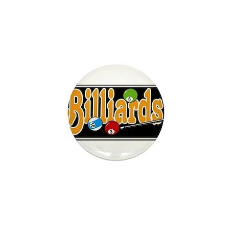 Billiards Mini Button (10 pack)