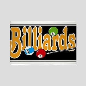 Billiards Rectangle Magnet