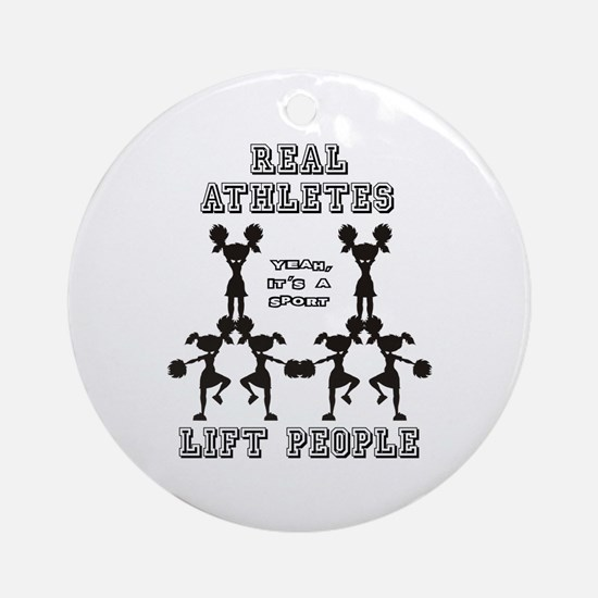 Athletes - Cheer Ornament (Round)