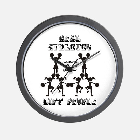 Athletes - Cheer Wall Clock