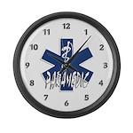 Paramedic Action Large Wall Clock