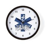 Paramedic Action Wall Clock