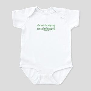 A Fine Tax Infant Bodysuit