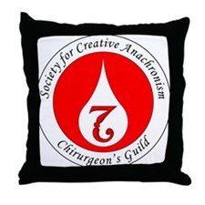 SCA Chirurgeon's Guild Throw Pillow