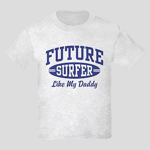 Future Surfer Like My Daddy Kids Light T-Shirt