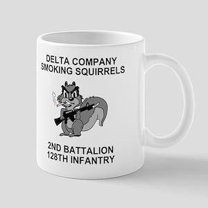 2-128th Infantry <BR>D Co. 11 Ounce Mug 2