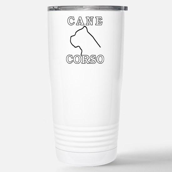Cane Corso Stainless Steel Travel Mug