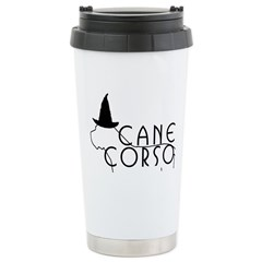 Haunted Cane Corso Stainless Steel Travel Mug