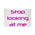 Stop Looking Rectangle Magnet (100 pack)