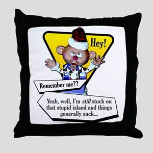 Catching Up With Charlie... Throw Pillow