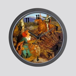 Damsel In Distress Wall Clock
