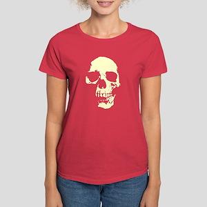 Vintage Skull #1 Women's Dark T-Shirt