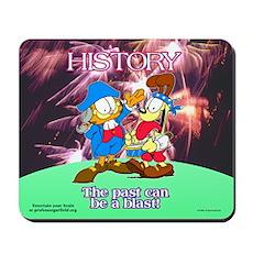 Garfield History Mousepad