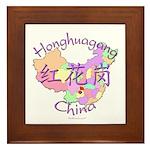 Honghuagang China Framed Tile