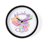 Huishui China Map Wall Clock