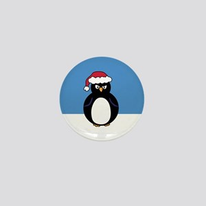 Angry Penguin Mini Button