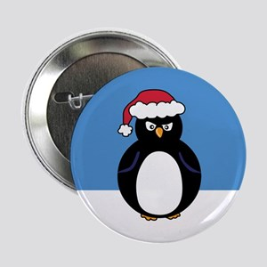 """Angry Penguin 2.25"""" Button"""