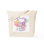 Liuzhi China Map Tote Bag