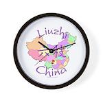 Liuzhi China Map Wall Clock