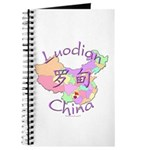 Luodian China Map Journal