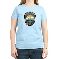Signal Hill Police Women's Light T-Shirt
